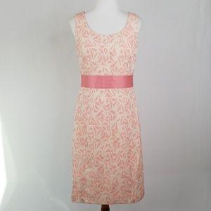 Ann Taylor Pint Print Sheath Dress, Size 6